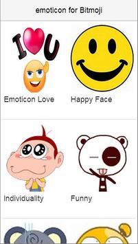 emoticons for Bitmoji poster
