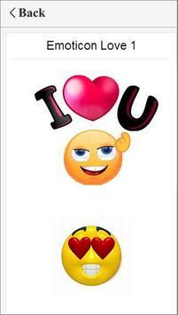 emoticons for Bitmoji screenshot 1