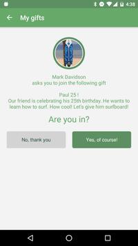 Piece of Cake - share a gift apk screenshot