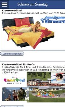 Schweiz am Sonntag apk screenshot