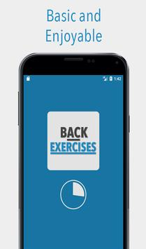 Back Exercises poster