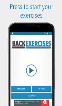 Back Exercises screenshot 1