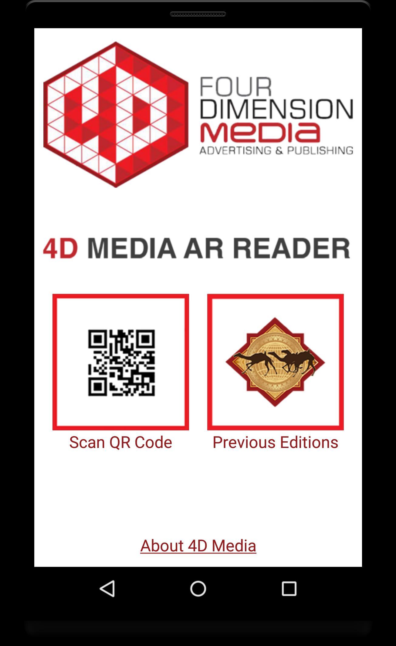 4D Media AR Reader for Android - APK Download