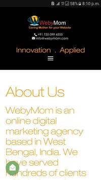 WebyMom apk screenshot