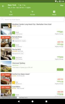 Wego Vluchten en Hotels APK-screenhot