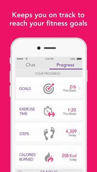 Yaye: Group fitness motivation apk screenshot