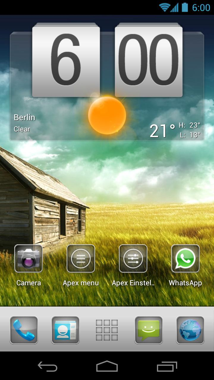 Plate Theme 4 Apex Launcher for Android - APK Download