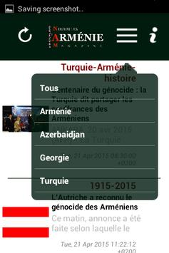 Armenews apk screenshot