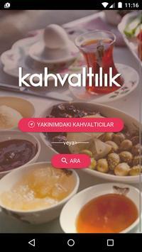 Kahvaltılık poster