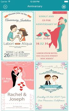 Anniversary invitation card maker for android apk download anniversary invitation card maker screenshot 5 stopboris Images