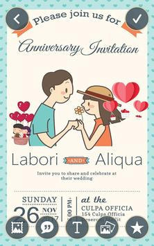 Anniversary invitation card maker for android apk download anniversary invitation card maker screenshot 6 stopboris Images