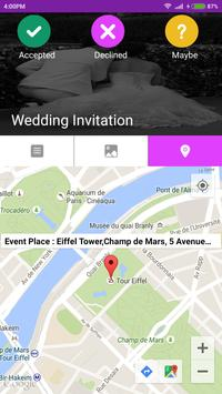 Wedding invitation card maker apk download free communication app wedding invitation card maker apk screenshot stopboris Gallery
