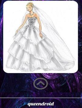 wedding Dress Sketches screenshot 1