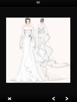 wedding Dress Sketches screenshot 2