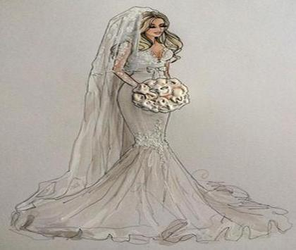 wedding Dress Sketches screenshot 4