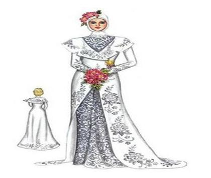 wedding Dress Sketches screenshot 5