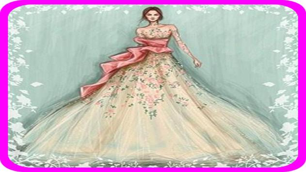 wedding Dress Sketches screenshot 7