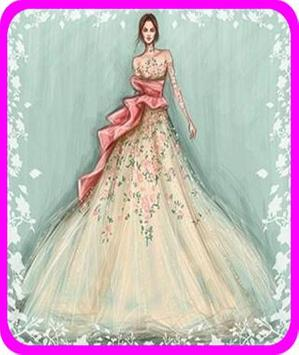 wedding Dress Sketches screenshot 9