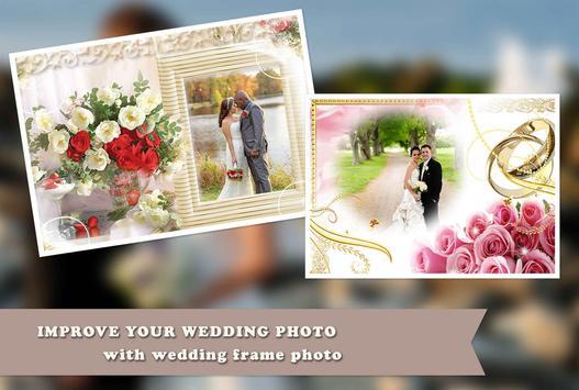 Wedding Anniversary PhotoFrame poster