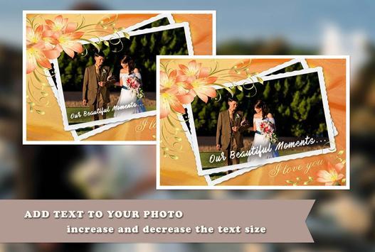 Wedding Anniversary PhotoFrame apk screenshot