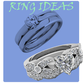 wedding and engagement rings icon