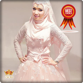 Wedding Dress Hijab icon
