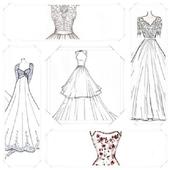 Wedding Dress Sketches icon