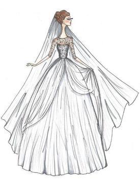 Wedding Dress Sketches apk screenshot