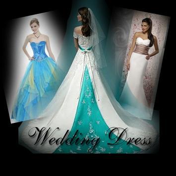 wedding dress design poster