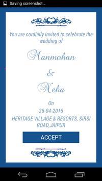 Manmohan Weds Neha poster