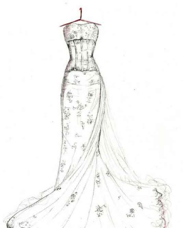 Wedding Gown Sketches Ideas APK Download - Darmowe Styl życia ...