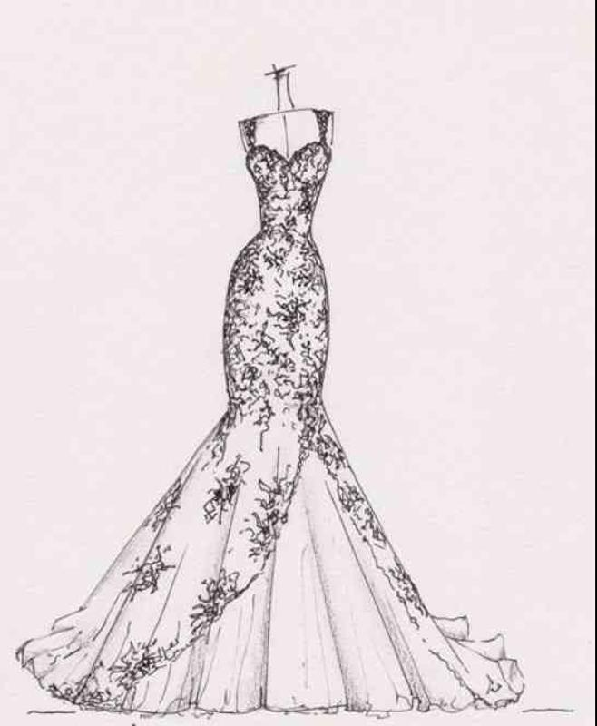 Wedding Gown Sketches Ideas for Android - APK Download