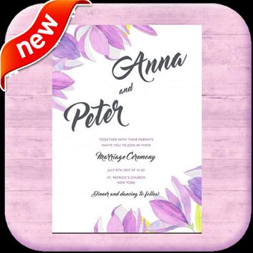 100+ Wedding Invitations Card Design App poster