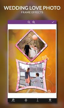 Wedding Love Photo Frame Effects screenshot 6
