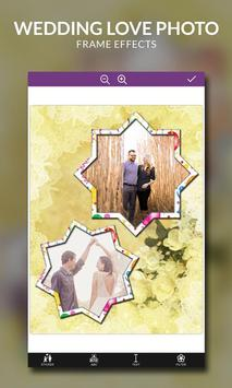 Wedding Love Photo Frame Effects screenshot 2
