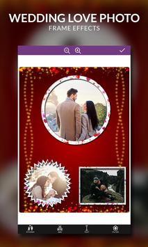 Wedding Love Photo Frame Effects screenshot 3