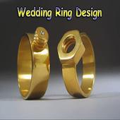wedding ring design icon
