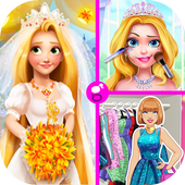 العاب بنات تلبيس ومكياج وفستان زفاف icon