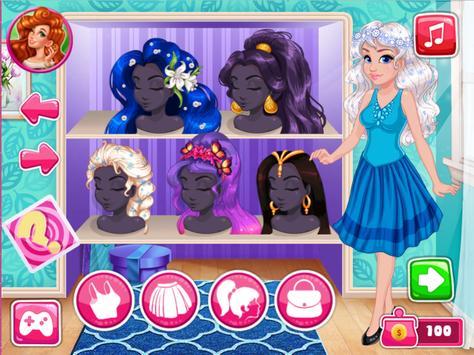 العاب بنات تلبيس ومكياج وفستان زفاف screenshot 22