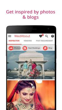 WedAbout Wedding Planning App poster