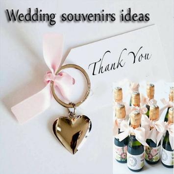 wedding souvenir ideas poster