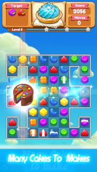 Candy Cookie: Match 3 Puzzle! apk screenshot