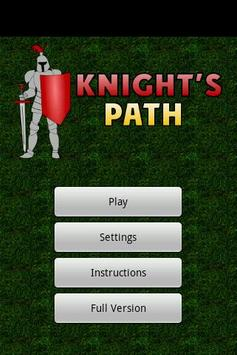Knight's path LITE poster