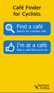 Cycle Cafe Finder poster