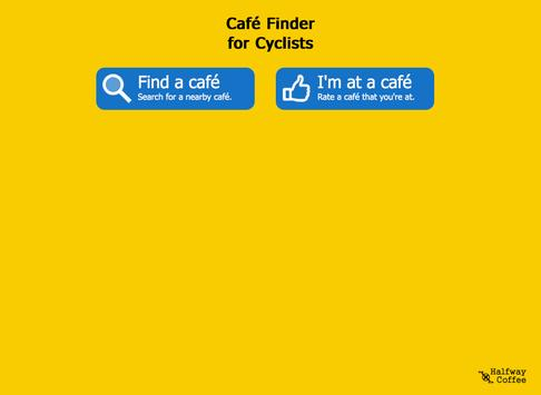 Cycle Cafe Finder apk screenshot