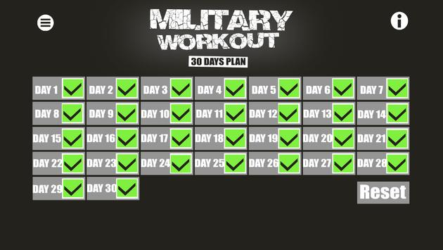 Military Workout screenshot 5