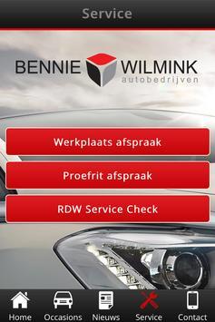 Bennie Wilmink Autobedrijven screenshot 3