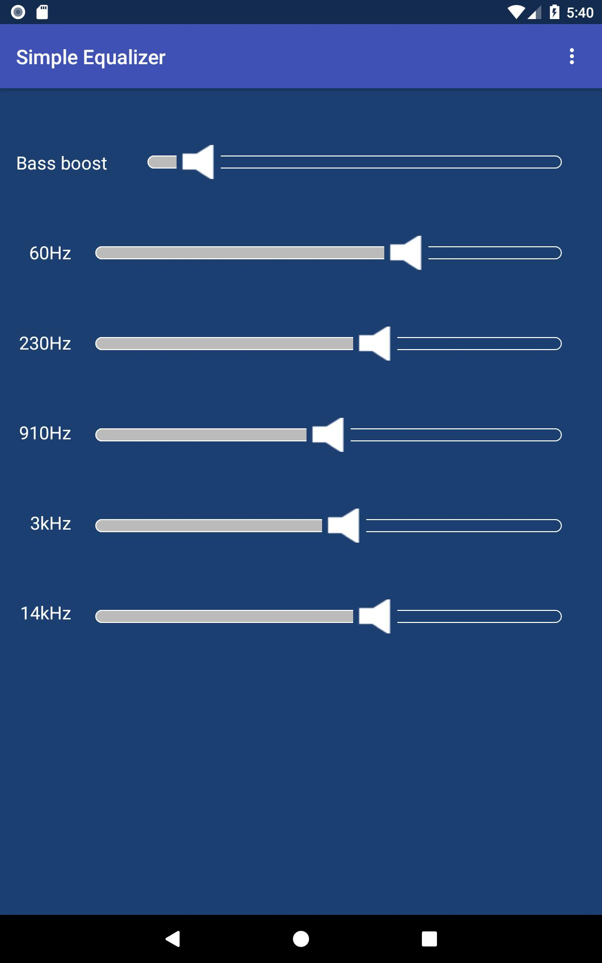 Equalizer - free, no ads, only audio permission! for Android - APK