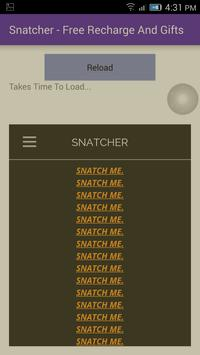 Snatcher- Free Paytm Cash apk screenshot