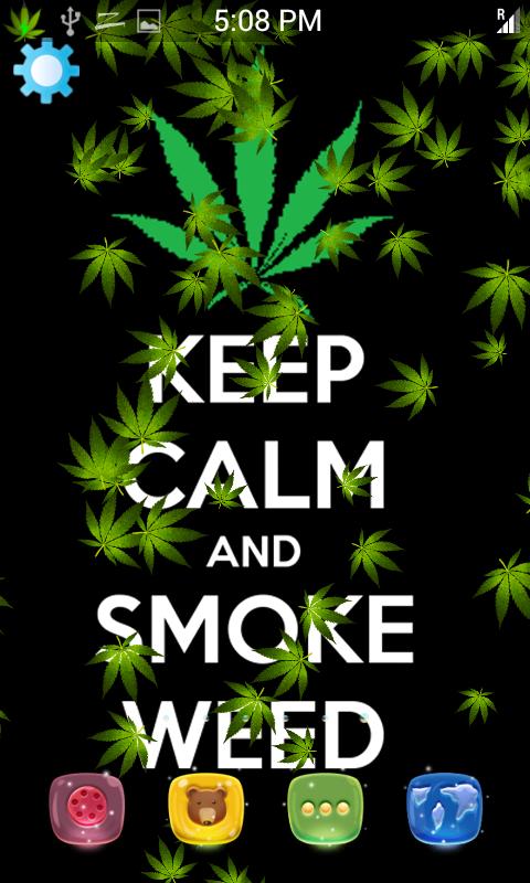 weed Marijuana Smoke Live Wallpaper poster ...